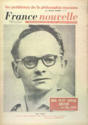 France Nouvelle N°849 du 24/01/1962 - Couverture - Format classique