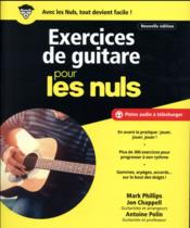 Vente  Exercices de guitare pour les nuls  - Mark Phillips - Antoine Polin - John Chappell