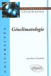 Geoclimatologie - Intérieur - Format classique