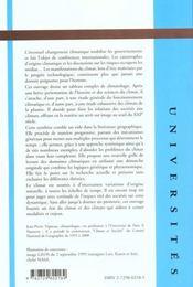 Geoclimatologie - 4ème de couverture - Format classique