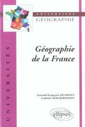 Géographie de la france - Intérieur - Format classique