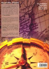 Nouvel atlas d'histoire-géographie - 4ème de couverture - Format classique