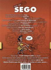 Tout sur ségo - 4ème de couverture - Format classique