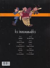 Les innommables t.5 ; au lotus pourpre - 4ème de couverture - Format classique