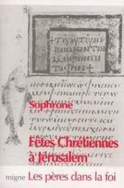 Fêtes chrétiennes à jérusalem - Intérieur - Format classique