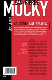 Jean-pierre mocky - 4ème de couverture - Format classique