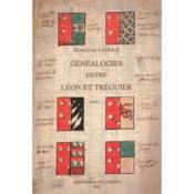 Genealogie Entre Leon Et Treguier - Couverture - Format classique