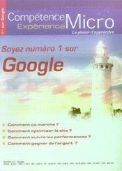 Competence Micro ; Soyez Numero 1 Sur Google - Intérieur - Format classique