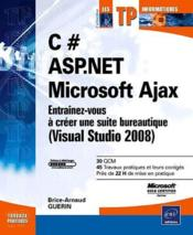 c asp net microsoft ajax entra nez vous cr er une suite bureautique visual studio. Black Bedroom Furniture Sets. Home Design Ideas