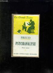 FREUD PSYCHANALYSE. 2em EDITION. - Couverture - Format classique