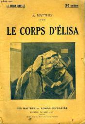 Le Corps D'Elisa. - Couverture - Format classique