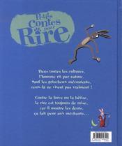 Petits Contes Pour... ; Rire - 4ème de couverture - Format classique