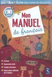 Cm1; Mon Manuel De Francais - Intérieur - Format classique