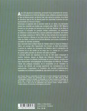 Les Necropoles Protohistoriques Des Moidons Et Le Site Princier Du Camp Du Chateau A Salins, Jura - 4ème de couverture - Format classique
