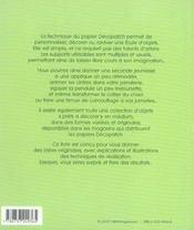 Decopatch - 4ème de couverture - Format classique