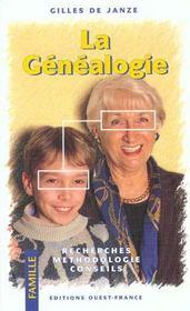 La Genealogie - Intérieur - Format classique