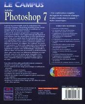 Photoshop 7 - 4ème de couverture - Format classique