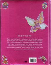 Le livre des fées - 4ème de couverture - Format classique