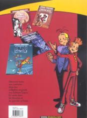 Spirou et Fantasio t.26 ; du cidre pour les étoiles - 4ème de couverture - Format classique