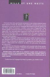 Le Palais Des Tres Blanches Mouffettes - 4ème de couverture - Format classique