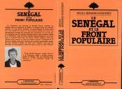 Senegal Et Le Front Populaire - Couverture - Format classique