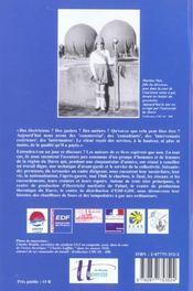 Quelque Part, Ca Laisse Des Traces. Memoire Et Histoire Des Electrici Ens Et Gaziers De La Region Du - 4ème de couverture - Format classique