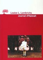 Journal D'Hannah (Le) - Intérieur - Format classique