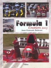 F1 Emotions – Jean-Francois Galeron