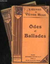 ODES ET BALLADES - N° 40 et 41 - Couverture - Format classique