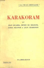 Karakoram. - Couverture - Format classique