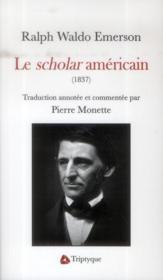 Le scholar américain (1837) - Couverture - Format classique
