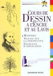 Cours De Dessin A L'Encre Et Au Lavis - Intérieur - Format classique