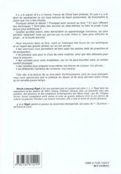 Cours De Dessin A L'Encre Et Au Lavis - 4ème de couverture - Format classique