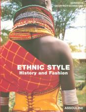 Ethnic style, history and fashion - Couverture - Format classique