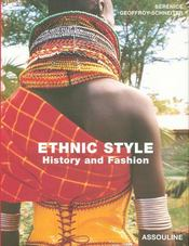 Ethnic style, history and fashion - Intérieur - Format classique