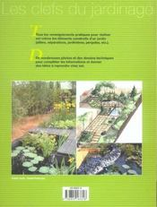 Creer Et Realiser Son Jardin - 4ème de couverture - Format classique