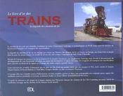 Trains (Les) - 4ème de couverture - Format classique