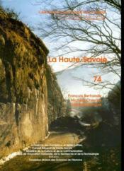 Carte Archeologique De La Gaule T.74 ; La Haute-Savoie - Couverture - Format classique