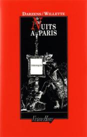 Nuits A Paris - Couverture - Format classique