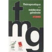 Thérapeutique en médecine générale (2e édition) - Couverture - Format classique