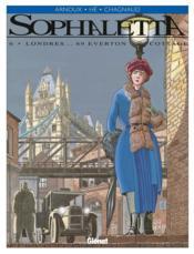 Sophaletta t.6 ; Londres... 69 Everton cottage - Couverture - Format classique