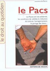 Pacs (Le) - Intérieur - Format classique