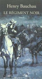 Le Regiment Noir - Intérieur - Format classique