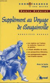Supplément au voyage de Bougainville, de Denis Diderot - Couverture - Format classique