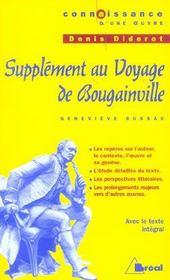 Supplément au voyage de Bougainville, de Denis Diderot - Intérieur - Format classique