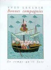Bonnes Compagnies - Couverture - Format classique