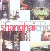 Guide Shangai Chic - Intérieur - Format classique