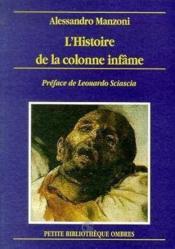 Histoire De La Colonne Infame (L') - Couverture - Format classique