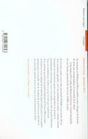 Apostrophe a pivot - 4ème de couverture - Format classique