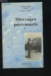 Messages Personnels - Couverture - Format classique